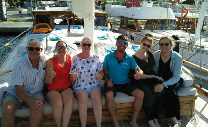 Dalyan – 24hrs sailing around the 12 islands.