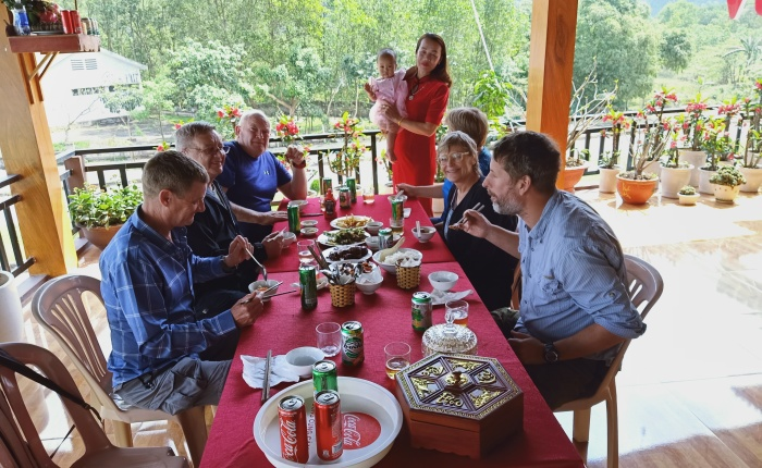 Phong Nha – 12th February (Tetday)